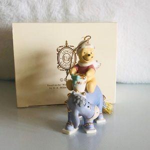LENOX Winnie The Pooh 24k Tree Ornament